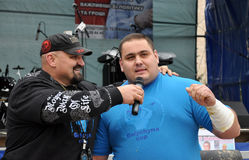 International Cup Galicia with strongman_36 Royalty Free Stock Photo