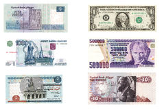International currencies Stock Image
