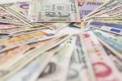 Free International Currencies Royalty Free Stock Photo - 58210455