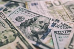 Free International Currencies Background. Money From Different Countries: Dollars, Euros. Euro And Dollar Banknotes. Money Background. Royalty Free Stock Images - 169024069