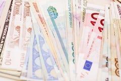 International currencies Stock Photos