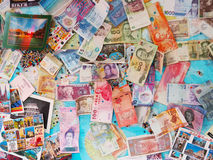 International Currencies Royalty Free Stock Photos