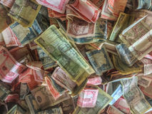 International currencies Stock Photo
