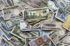International Currency. Asian Bank Note stock photography