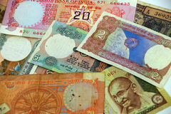 International currency notes Stock Image