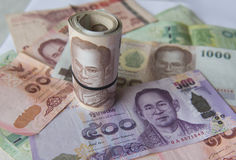 International Currency, Thai baht. International Currency, Asian Bank Note stock photography