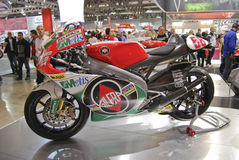 International cycle and motorcycle exhibition Royalty Free Stock Photo