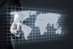 International data Stock Photo
