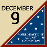 International Day Against Corruption. Royalty Free Stock Photos