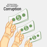 International Day Against Corruption. Royalty Free Stock Images