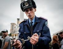 International Day against Drug Abuse and Illicit Trafficking. June 26, 2015. Kiev, Ukraine. International Day against Drug Abuse and Illicit Trafficking in Kiev Royalty Free Stock Image