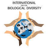 International Day for Biological Diversity Stock Image