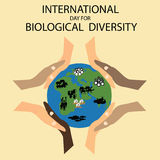 International Day for Biological Diversity Royalty Free Stock Image