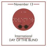International Day of the Blind. November 13 Royalty Free Stock Image