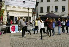 International Day of Dance in Frydek-Mistek Stock Photos
