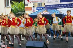 International Day of Dance in Frydek-Mistek Royalty Free Stock Photography