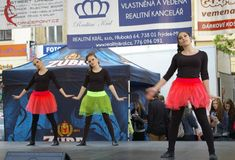 International Day of Dance in Frydek-Mistek Royalty Free Stock Photos