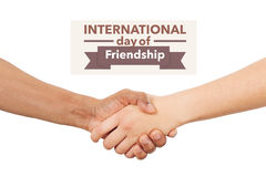 International day of friendship Stock Photography