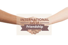 International day of friendship Royalty Free Stock Image