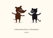 International Day of Friendship vector Royalty Free Stock Photos