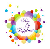 International Day of Happiness- March 20 Royalty Free Stock Images
