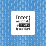 International Day of Human Space Flight Royalty Free Stock Images
