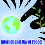 International Day of Peace. Stock Photography