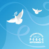 International Day of Peace background Royalty Free Stock Photo