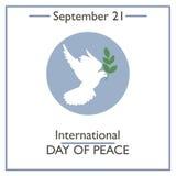 International Day of Peace, September 21 Stock Image