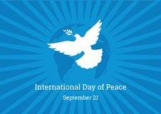 International Day of Peace vector Stock Photos