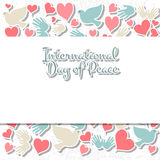International Day of Peace vector illustration Stock Images