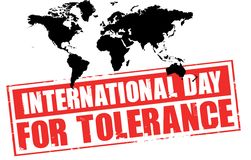 International day for tolerance Royalty Free Stock Images