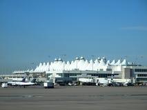 international de Denver d'aéroport Photo libre de droits