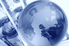 international de finances Images libres de droits