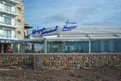 International de Marisqueria do restaurante Foto de Stock