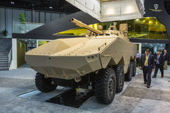 International Defence Exhibition in Abu Dhabi Stock Photos