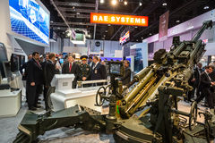 International Defence Exhibition in Abu Dhabi Royalty Free Stock Images
