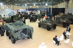 International Defence Industry Fair, Istanbul, Turkey Royalty Free Stock Image
