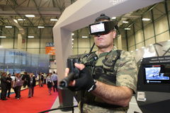 International Defence Industry Fair, Istanbul, Turkey Stock Image