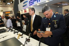 International Defence Industry Fair, Istanbul, Turkey Stock Photos