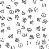 International Delivery Seamless Pattern Vector vector illustration