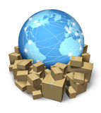 International Delivery Service Royalty Free Stock Photos