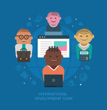 International Development Team Royalty Free Stock Image