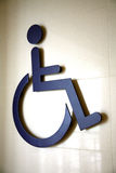 International disabled symbol Stock Photos