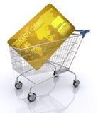 International do cartão de crédito Imagens de Stock Royalty Free