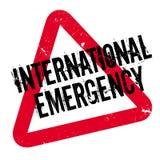 International Emergency rubber stamp Stock Photos