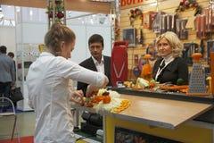 International Exhibition CONSUMEXPO Stock Photo