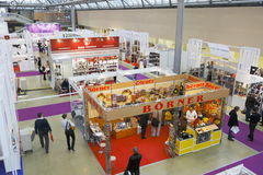 International Exhibition CONSUMEXPO Stock Images