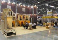 International Exhibition INTERAVTO Royalty Free Stock Images