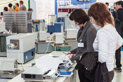 International Exhibition of Laboratory Equipment and Chemical R Royalty Free Stock Images